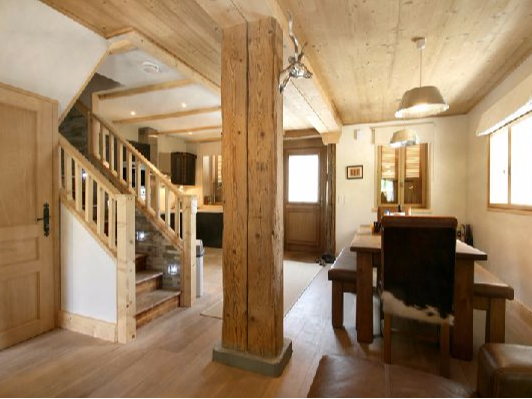 3 bedroom apartments and chalets to rent St Gervais Les Bains